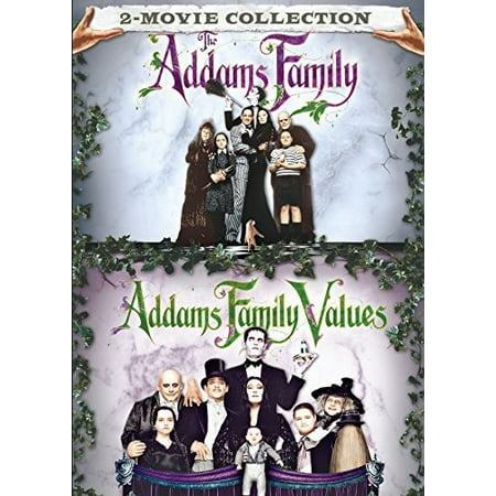 2 Movie Collection: The Addams Family and Addams Family Values (DVD) (Halloween With The New Addams Family)