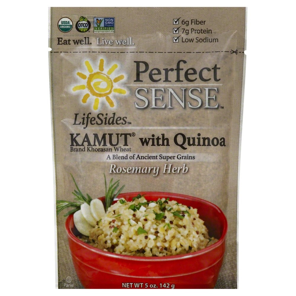 Perfect Sense LifeSides Kamut with Quinoa, Rosemary Herb, 5 Oz