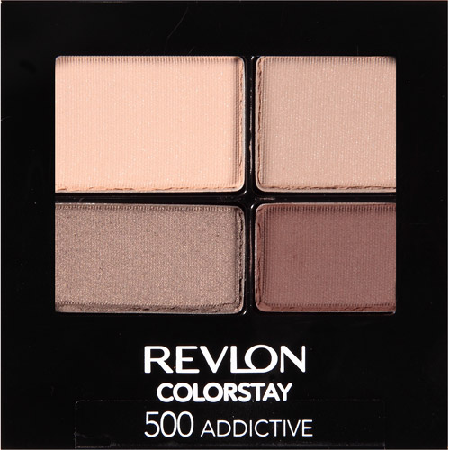 Revlon ColorStay 16 Hour Eyeshadow, 500 Addictive, 0.16 oz