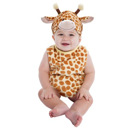 Boy Infant Halloween Costumes (Infant & Toddler Boys & Girls Plush Baby Giraffe Halloween)