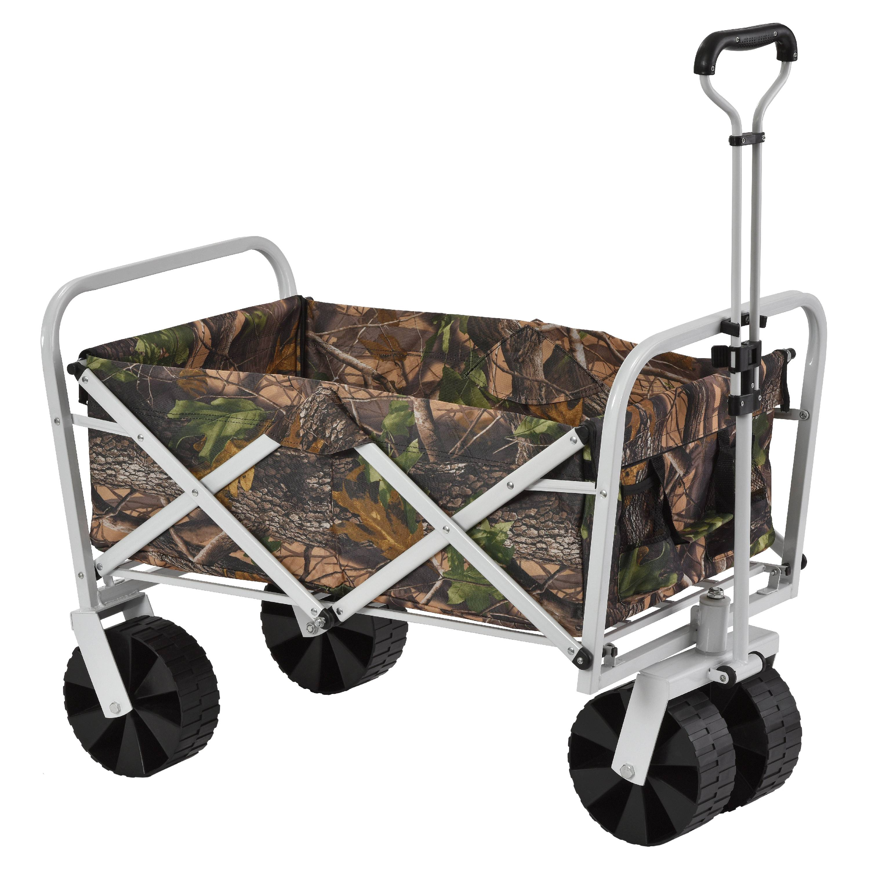Collapsible Folding Utility Wagon, Camo