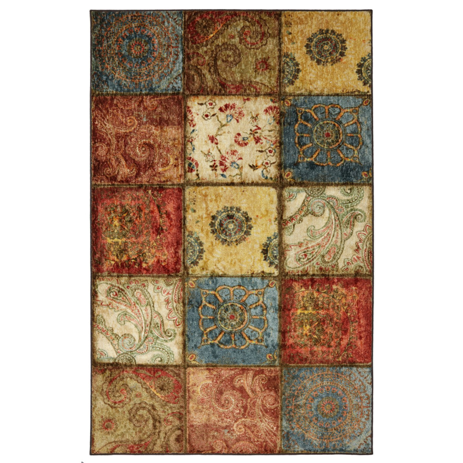 Mohawk Home Free Flow Artifact Panel Indoor Area Rug