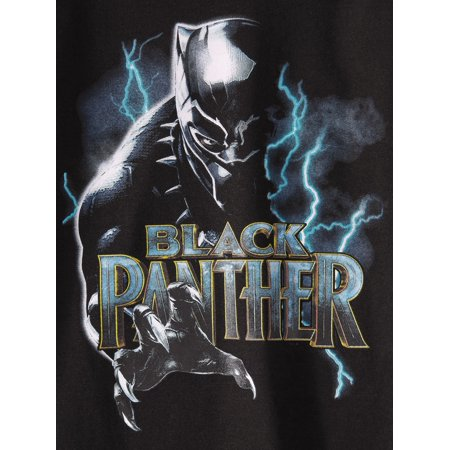 Marvel Black Panther Short Sleeve Raglan Tee Shirt (Big