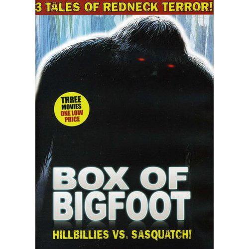 Box Of Bigfoot: Hillbillies Vs. Sasquatch - The Barbaric Beast Of Boggy Creek / Capture Of Bigfoot / Legend Of Bigfoot