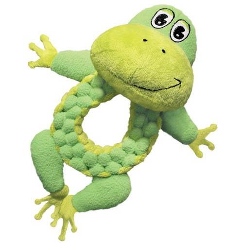 KONG Company Round BraidZ, Frog