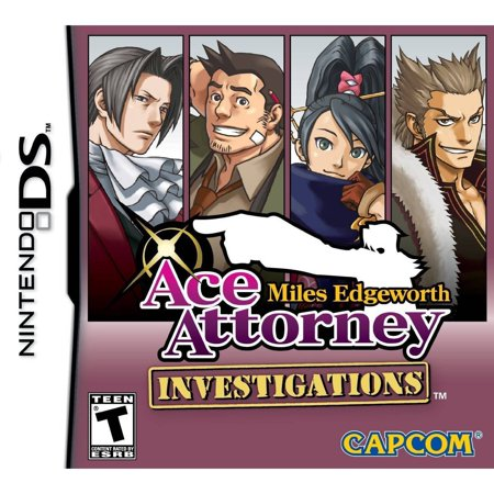 Ace Attorney Investigations Miles Edgeworth (Nintendo (Best Nintendo Ds Games For 6 Year Old)