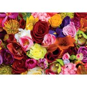 masterpieces you smell roses jigsaw puzzle, art by douglas peebles, 500-piece