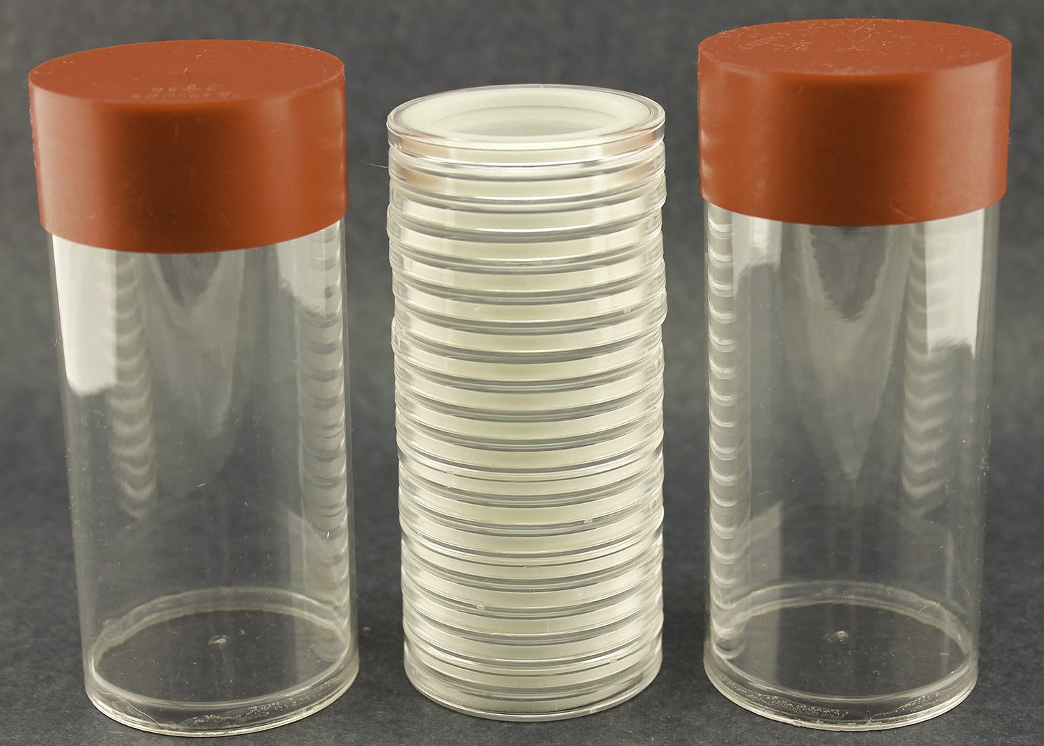 Air-tite 29mm Black Ring Coin Holder Capsules for 1//2oz Gold Libertads and Onza 3