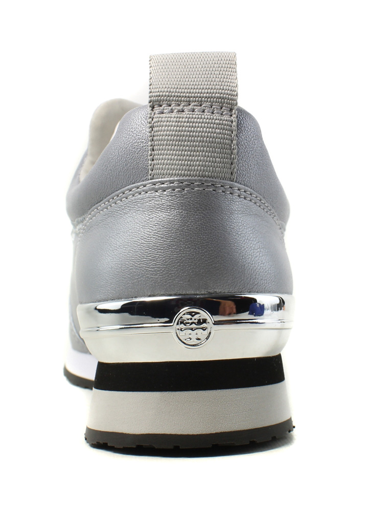 Tory Burch Womens Laney Embellished Silver Fashion Shoes Size 8 New