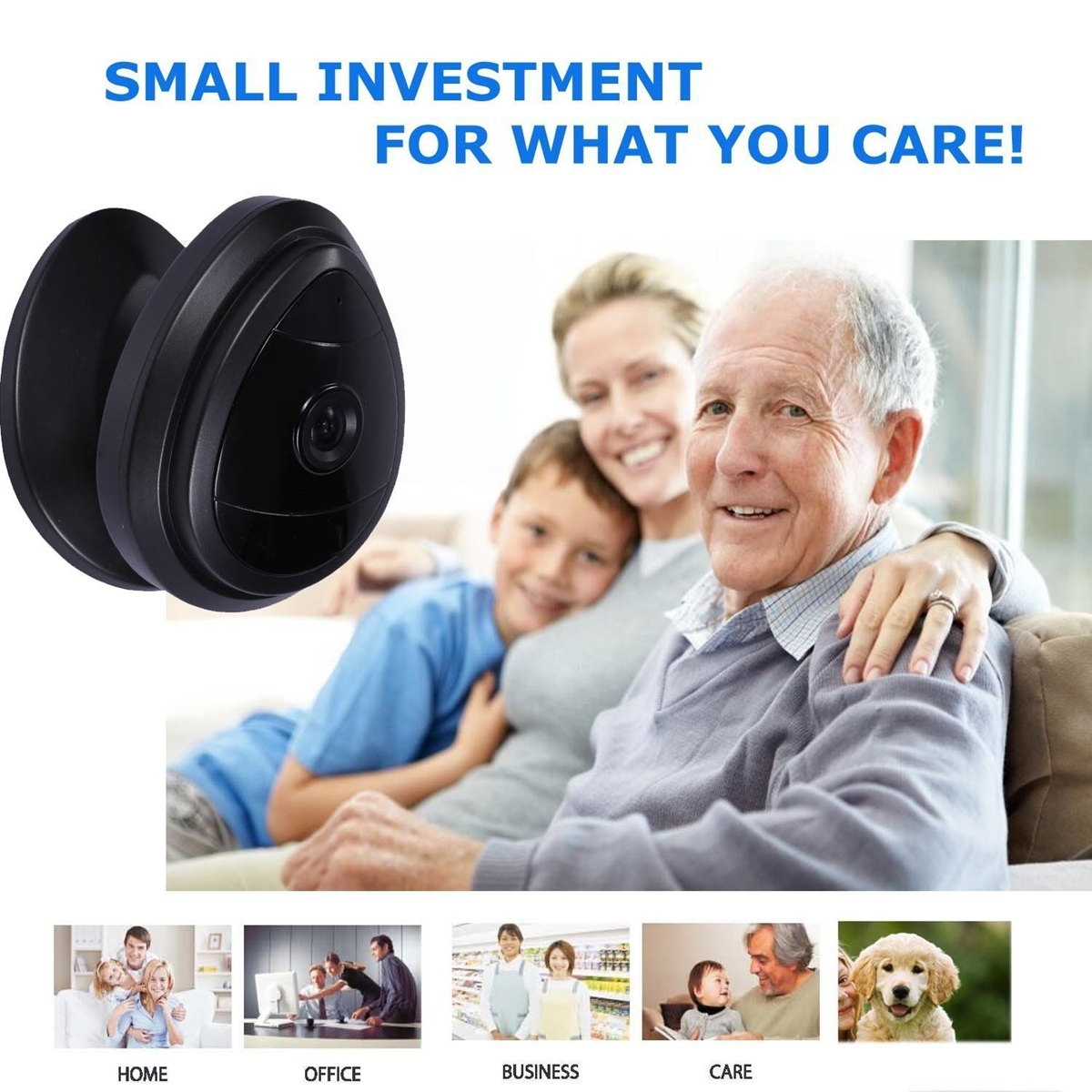 For Baby securitycamerassurveillance Safety HD 720P  Wireless WiFi IP Camera Photography for Indoor Security with Night Vision IR Audio Funtion for Home Office Pet Old People Baby Monitor