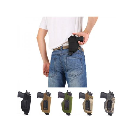MAXSUN Outdoor Hunting Tactical Pistol Concealed Carry Holster Belt Accessories (The Best 45 Pistol To Carry)