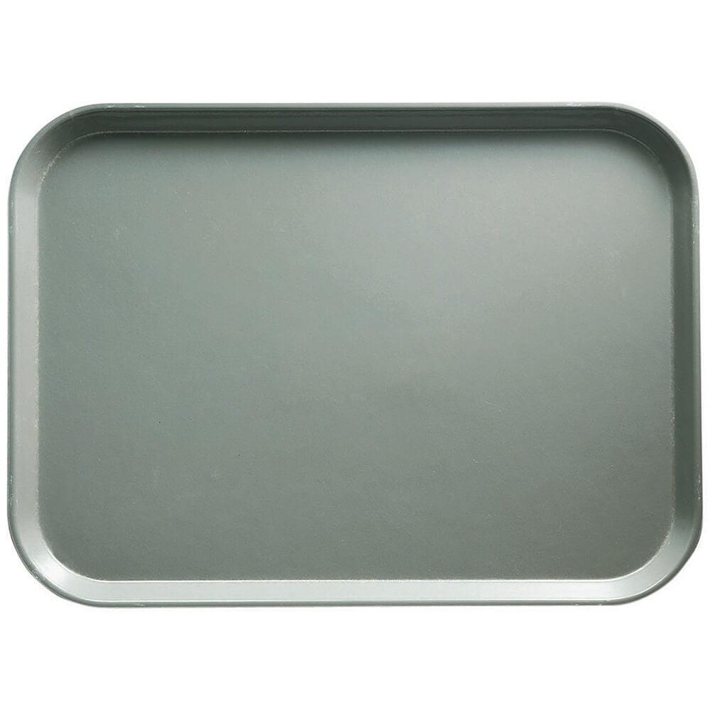 "Cambro 10-7/16"" x 12-3/4"" (26.5x32.5 cm) Food Trays, 12PK, Pearl Gray, 2632-107"