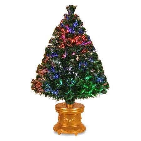 36u0022 Fiber Optic Fireworks Evergreen Tree