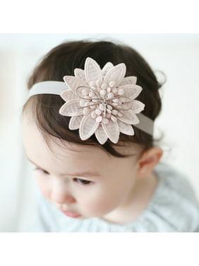 Product Image Baby Hair Sharp Angle Flower Headband Ribbon Newborn Toddler  Hair Children PK 735b9c9ccc28