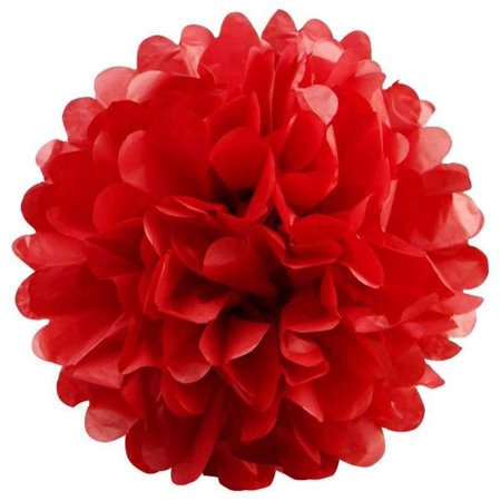 Tissue Paper Pom Poms Diy (Efavormart 12 PCS Paper Tissue Wedding Birthday Party Banquet Event Festival Paper Flower Pom Pom 8)