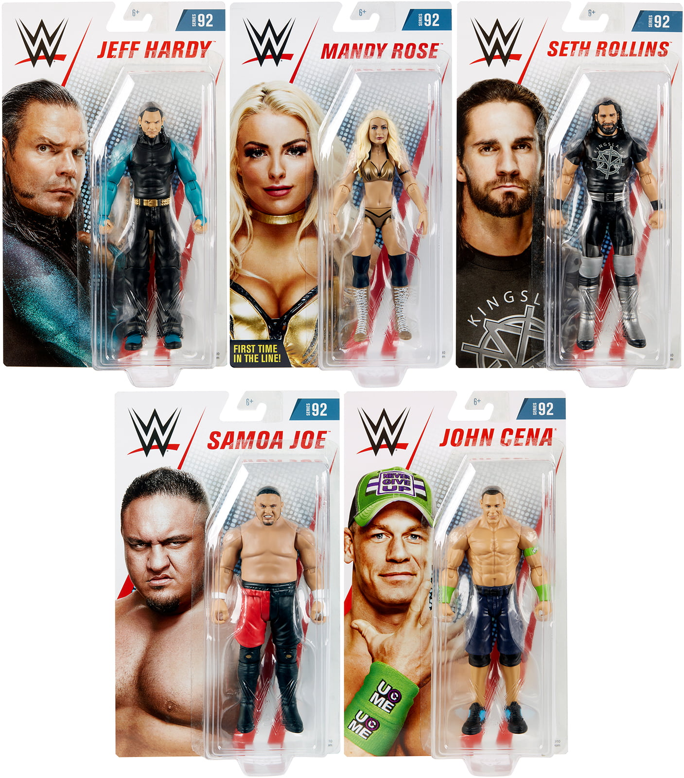 WWE CHOOSE YOUR MATTEL BASIC SERIES 92 WRESTLING ACTION FIGURE TOY FIGURINE