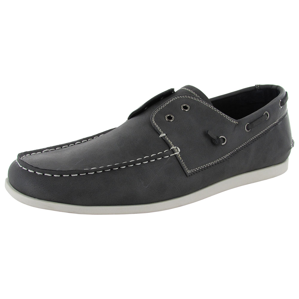 Steve Mens M-Gains Slip On Boat Shoes