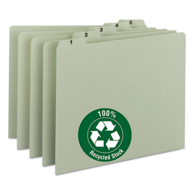 Recycled Top Tab File Guides, Daily, 1 5 Tab, Pressboard, Letter, 31 Set, Sold as 1 Set, 31 Each per Set by