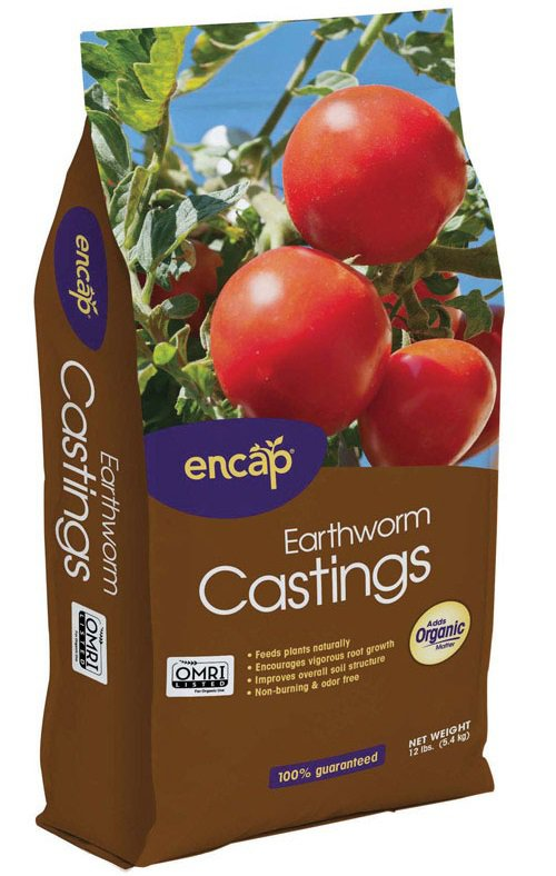 Encap 11213-4 Earthworm Castings Compost, 12-Lb. by ENCAP LLC