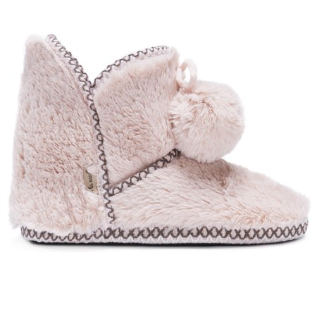 Image of Muk Luks A La Mode Women's Short Fur Bootie
