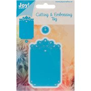 Joy! Crafts Cut & Emboss Die-ornate Tag,