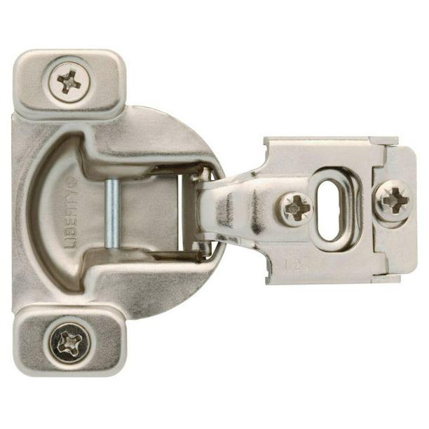 Everbilt Cabinet Hinge Door 1//2 Inch Overlay Soft Close 35 mm 105 Degree 5 Pair
