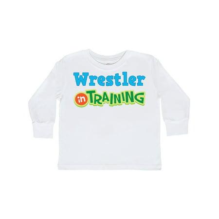 Wrestler in Training Toddler Long Sleeve T-Shirt - Sumo Wrestlers Costumes