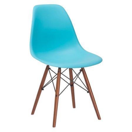 Edgemod Vortex Side Chair With Walnut Legs   Set Of 4