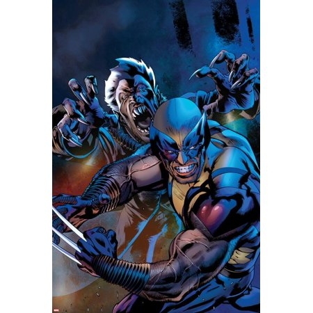 Wolverine: The Best there is No.5 Cover Poster Wall Art By Bryan (Best Wall Color To Showcase Art)