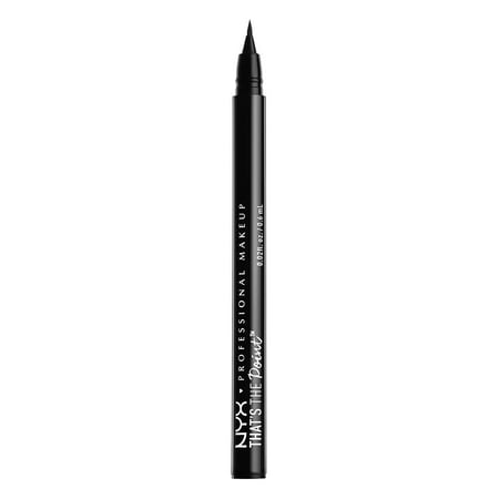NYX Professional Makeup That's The Point Eyeliner, Hella Fine (Simple Eyeliner Halloween Makeup)