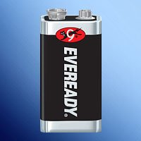 12 X INDUSTRIAL SUPER HEAVY DUTY 1222 CARBON ZINC 9V CELL 9V 330MAH Batteries By Eveready by