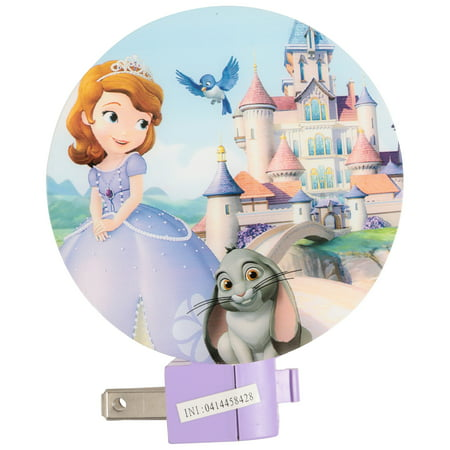 Disney Sofia the First Night Light Carded Pack