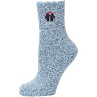 Washington Wizards Women's Fuzzy Block Tri-Blend Socks - Navy - M