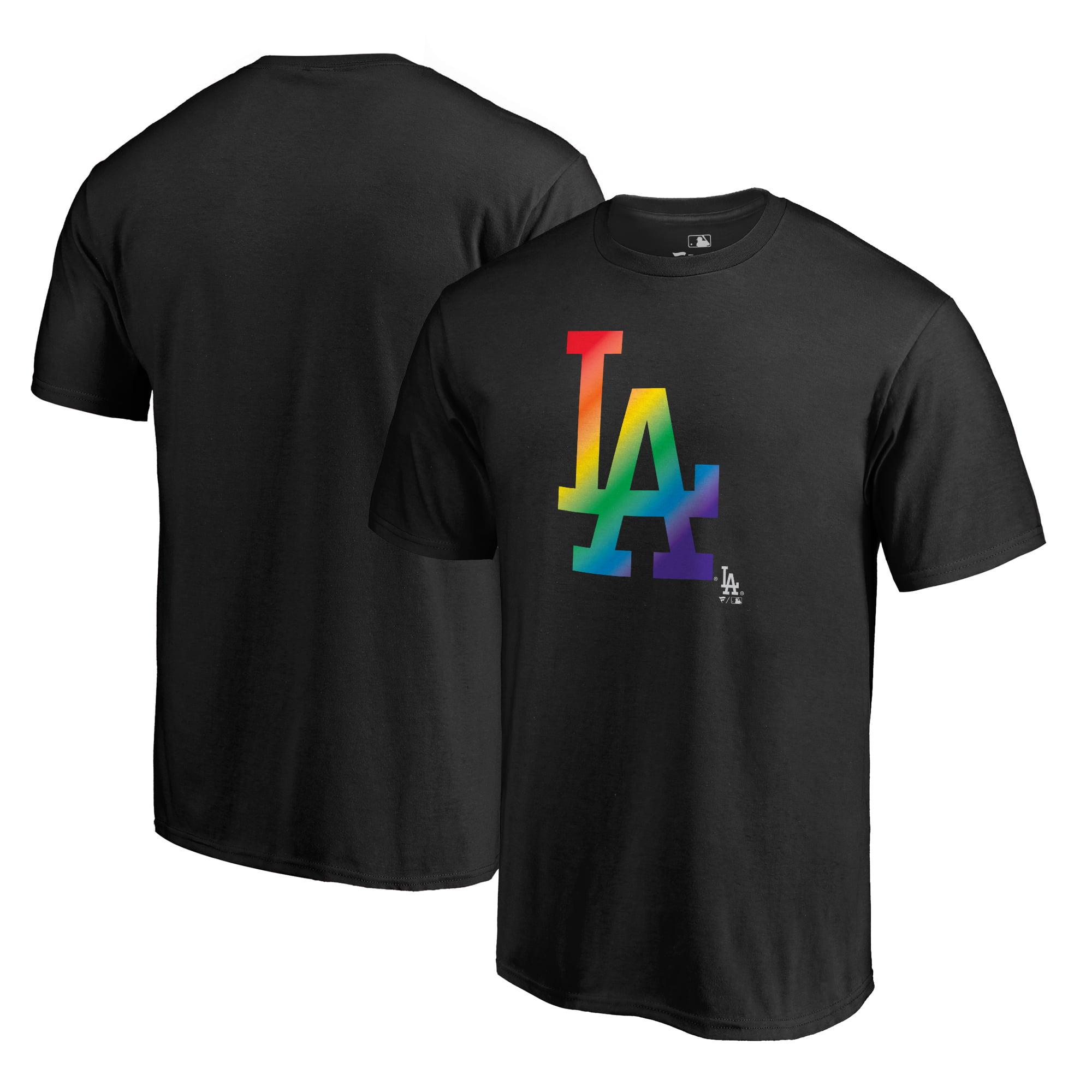 Los Angeles Dodgers Fanatics Branded Pride T-Shirt - Black