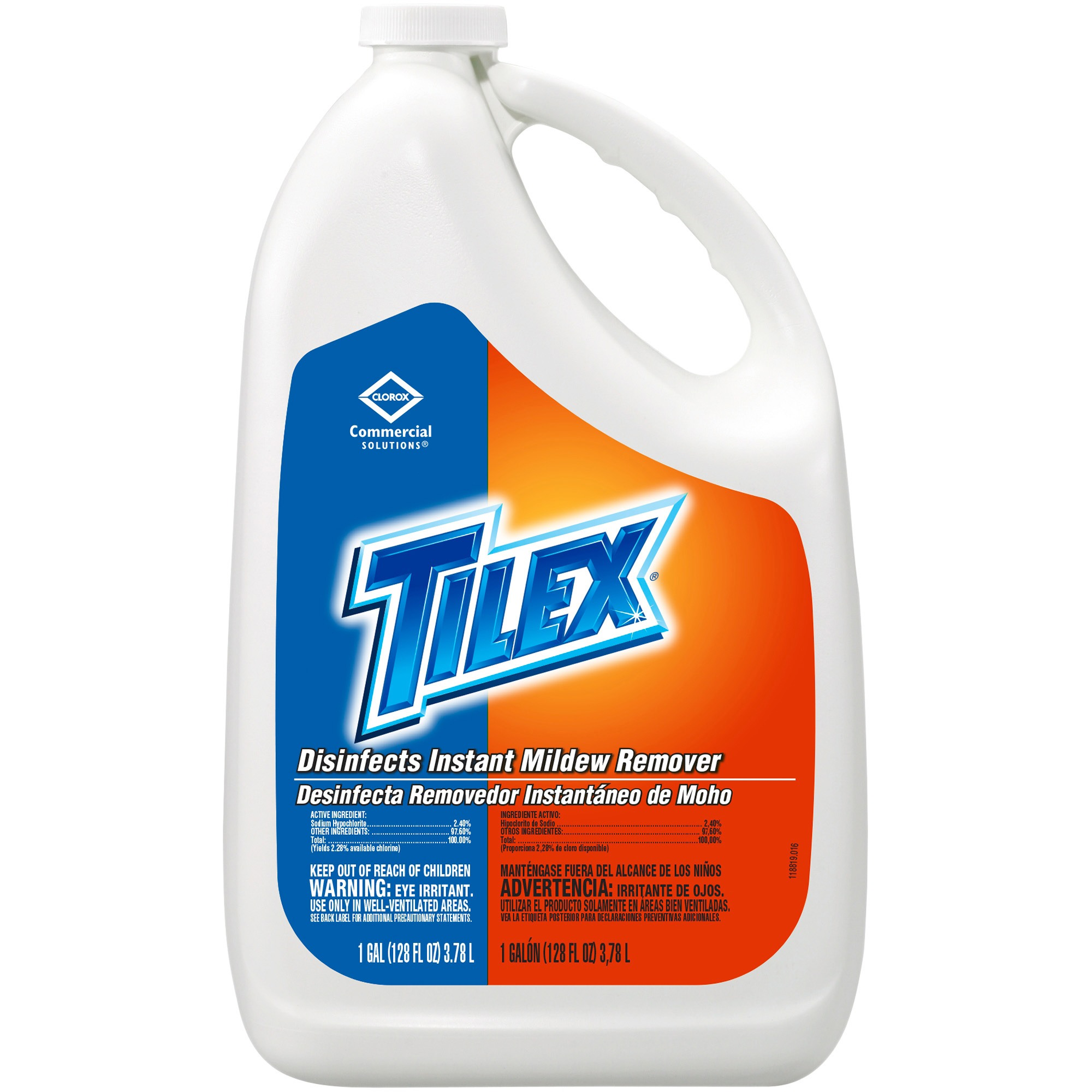 Tilex Disinfects Instant Mildew Remover Refill Bottle, 128 fl oz, (Pack of 4)