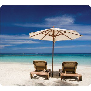 Fellowes 5909501 Earth Series Mouse Pad Beach Chairs ...