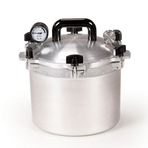 All American 910 10.5 Quart Pressure Cooker Canner by Wisconsin