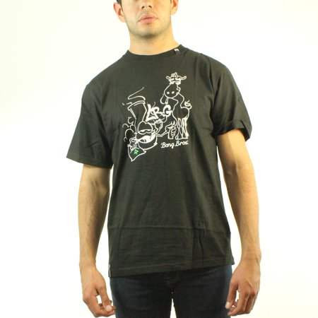 Lifted Research Group Bong Bros Mens Black T Shirt New Sizes S 2Xl
