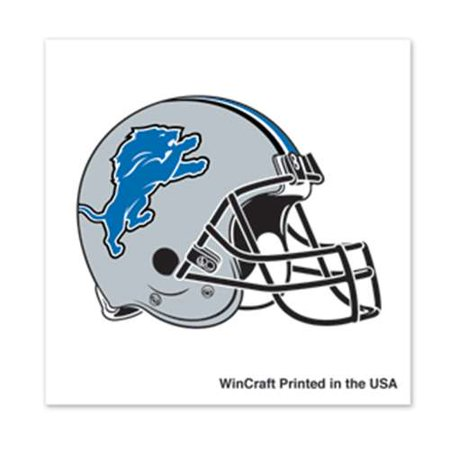 Detroit Lions Temporary Tattoo - 4 Pack
