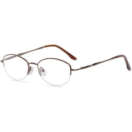 Visage Womens Prescription Glasses, Cashmere Brown - Walmart.com