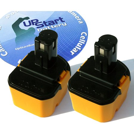 2-Pack Ryobi 12V Battery Replacement - Compatible with Ryobi 1400652, 1400670, HP1201KM2, BID1211, CCD1201, CHD1201, CHD1202, CTH1201, CTH1202, CTH1202K2, FL1200, HP1201M, HP1201MK2, R10510, RY1201 1400652 Replacement Power Tools