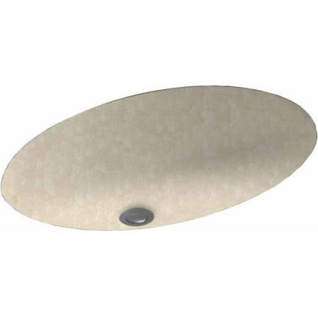 Swan UL 1913 010 Swanstone 16 x 6 25 Undermount Oval Bathroom Sink with Overflow Available in Various Colors