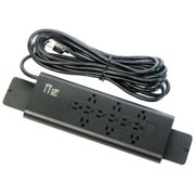 Bretford E12 12-Outlets Power Strip - Receptacle: 12 Surge-protected - 20 ft Cord