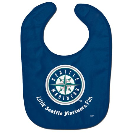 Seattle Mariners WinCraft Infant Lil Fan All Pro Baby Bib - No Size