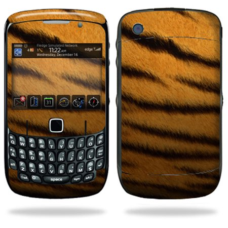 Mightyskins Protective Skin Decal Cover for Blackberry Curve 8500, 8520, 8530 Cell Phone wrap sticker skins Tiger
