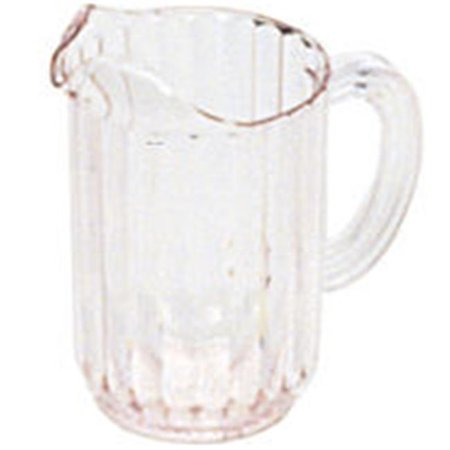 Rubbermaid Commercial Products 3337CLE Bouncer Plastic Pitcher, 54 oz.  - Clear