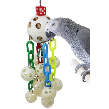 Bonka Bird Toys 1792 Ball Waterfall Bird Toy.