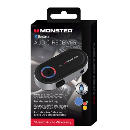 Monster Bluetooth Aux Audio Receiver