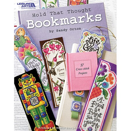 Leisure Arts Hold That Thought Bookmarks