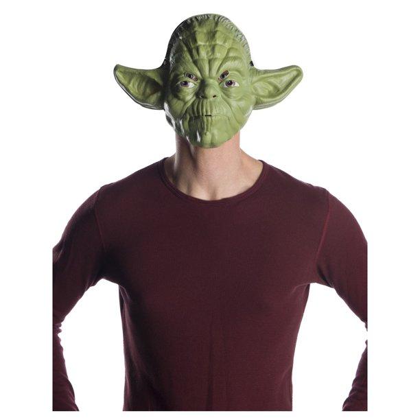 Costume Halloween Yoda.Classic Ben Cooper Yoda Mask Halloween Costume Accessory Walmart Com Walmart Com